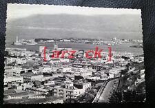 MESSINA Vecchia Cartolina Bianco e Nero PANORAMA il Duomo La Madonnina il Porto