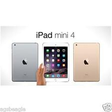 "Paypal Apple Ipad Mini 4 Mini4 128gb WiFi 7.9"" Wi-Fi Tablet Brand New Agsbeagle"