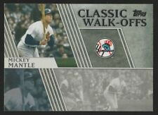 2012 TOPPS CLASSIC WALK-OFFS #CW7 MICKEY MANTLE