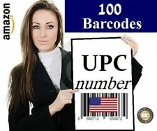 100 UPC Numbers UPC Barcodes EAN Bar Code UPC Number Labels US UK EU Amazon