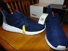 nwt mens adidas questar flow running shoes size 11 dark blue/white