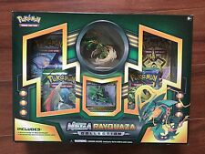 POKEMON RAYQUAZA GIFT BOX 4 BOOSTER PACKS, 1 RAYQUAZA FIGURE & 1 PROMO CARD F/S