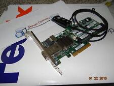 Hp Smart Array P222/512 FBWC PCI-E 6GB SAS RAID 631667-B21 633537-001 CONTROLLER