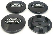4 x Tappi Coprimozzo LAND ROVER Freelander Discovery Evoque Cerchi in Lega 62mm