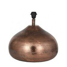 Antique Copper Metal Pot Table Lamp