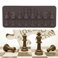 Silicone 3D Chess Pastry Bakeware Cake Baking Tray Mold Chocolate Ice Cube Mould