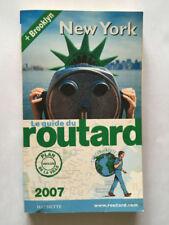 GUIDE ROUTARD NEW YORK ETATS UNIS 2007 HACHETTE