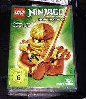 LEGO NINJAGO KOMPLETTBOX DVD 4 DISC SET SCHNELLER VERSAND NEU & OVP