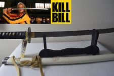 Two Brand New Sharp Stainless Steel Kill Bill Swords Black & White Colour