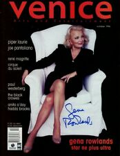 Gena Rowlands Signed Autographed Magazine Venice October 1996 GV907090