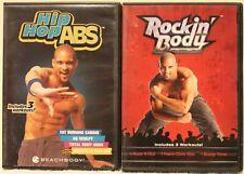 2 Shaun T hip hop abs rockin body workout DVD lot fat burning cardio booty time