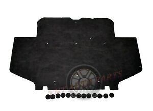 """1995-2000 Toyota Tacoma Hood Insulation Pad 1/2"""" with clips"""
