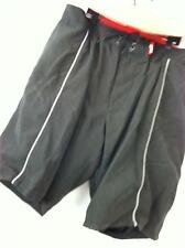 New Burton Red Snowboard Padded Impact Shorts - Medium/Black - Protective Gear