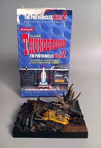 2005 Thunderbirds Firefly Model Diorama - Pod Vehicles 2 - Konami Carlton Japan
