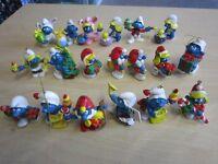 19 x Weihnachtsschlümpfe & Osterschlümpfe  Smurf Schlumpf Sammlung