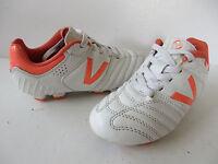 VICTORY ° tolle Fussballschuhe Gr. 31 weiß-orange Kinder Sport-Schuhe Fussball