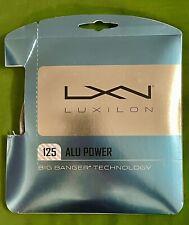 LUXILON 125 ALU Power Big Banger Tennis String 16L 40ft/12.2m Silver