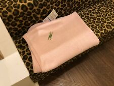 NWT Bella Bliss Pink Frog Baby Blanket