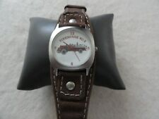 Firehouse #5 Quartz Watch - Shows an old fire truck on the dial