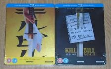 Kill Bill 1 & 2 - Bundle (2 Blu-rays) steelbook. NEW & SEALED.