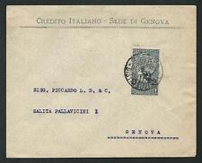 Italia Regno - 1913 -  Cinquantenario Unità d'Italia : C. 2 su 15 su busta