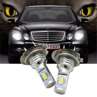 2x LED LAMPEN H7 Auto Light ABBLENDLICHT Weiß 6000K VS Xenon für MERCEDES E W211