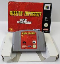 Nintendo 64 - N64 Spiel - Mission Impossible Expect The Impossible + OVP