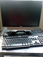 dell optiplex desktop computer with monitor, keyboard, mouse, without modem