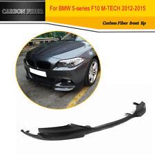 1PC Carbon Fiber Front Under Chin Lip Fit for BMW F10 M Tech M-Sport 2012-2015