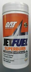 GAT Jet Fuel SUPERBURN Fat Burner Weight Loss Energy 120 Capsules Focus Thermo
