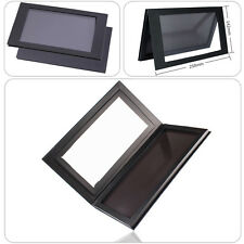PRO Empty Magnetic Makeup Palette Pad Black Large Eyeshadow Cosmetic DIY Beauty