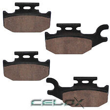 Front Semi-Metallic Brake Pads Suzuki King Quad 700 4x4 LT-A700X 2005 2006 2007