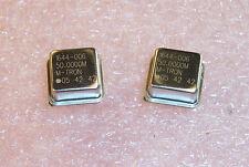 Qty 10 50mhz 12 Size Oscillators 50000mhz Mtron