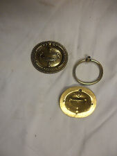 """1 poignée anneau """"soupière""""  de style Louis XVI en laiton,bronze, tiroir, meuble"""
