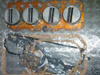 LAND ROVER SERIES PETROL PISTONS x 4 + FULL GASKET KIT ENGINE OVERHAUL KIT -