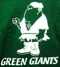 GREEN GIANTS VINTAGE SOFT COMFORTABLE GREEN XL SHIRT