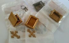 Dollhouse miniatures 7 pieces picture frames and keys