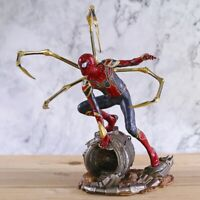 Avengers Infinity War Iron Spider Spider man Statue Figure Collectible Toy
