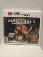NEW Minecraft New Nintendo 3DS Edition (Nintendo NEW 3DS / NEW 2DS XL) - BB24