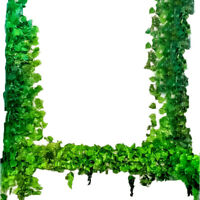 12Pcs Artificial Ivy Vine Leaf Garland Green Rattan Plants Fake Foliage Flowers