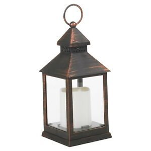 23cm Decorative LED Candle Lantern Light Holder Indoor Outdoor Hanging Décor