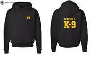 Deputy Sheriff K9 unit Law Enforcement Hooded Sweatshirts S-5XL