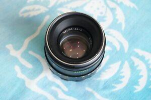 Helios-44-2 58мм f/2 lens for M42 Zenit Pentax Practica