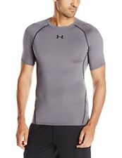 Under Armour Heatgear Compression SS T-shirt Manche Courte Homme Graphite XL