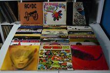 CLASSIC ROCK LOT #16 48 LPs ROLLING STONES ALICE COOPER GENESIS JANIS JOPLIN