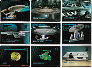 Star Trek Phase Complete 300 Base Card Set SKYBOX 1995 SLEEVES INCLUDED