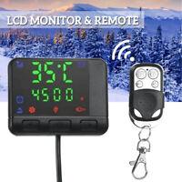 LCD Monitor Fernbedienung Controller Schalter für Auto Air Diesel Standheizung