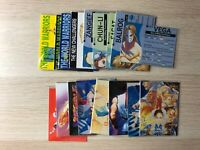 Street Fighter II 2 trading cards base single cards by Capcom 1994, Kids Korner