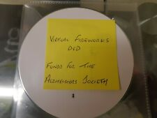 Virtual Fireworks DVD. Stunning Superb no expense..Funds For Alzheimers Society.