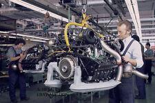 Porsche 911 2.7 engine assembly at 1970s Porsche factory – Porsche 911 – photo
